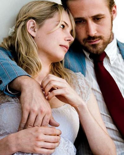 Ryan gosling karatasi la kupamba ukuta possibly containing a portrait entitled New Blue Valentine pic kwa Elle.com
