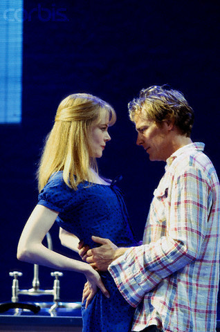 니콜 키드먼 바탕화면 titled Nicole Kidman on stage in The Blue Room