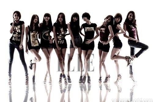 Nine Muses for elle
