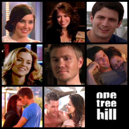 Brooke and Julian karatasi la kupamba ukuta called OTH
