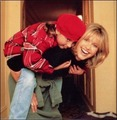 Olivia and her daughter Chloe - olivia-newton-john photo