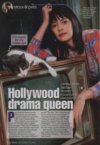 Paget and her Cat