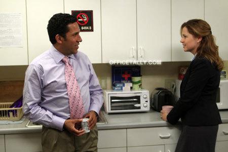 Pam and Oscar (Season 7 Promo Photo)