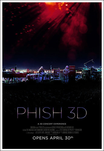Phish The Live concert Expirence 3D