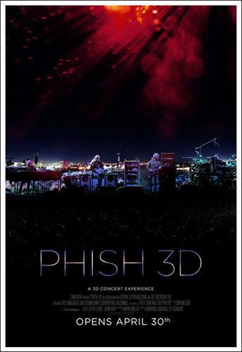 Phish The Live 음악회, 콘서트 Expirence 3D
