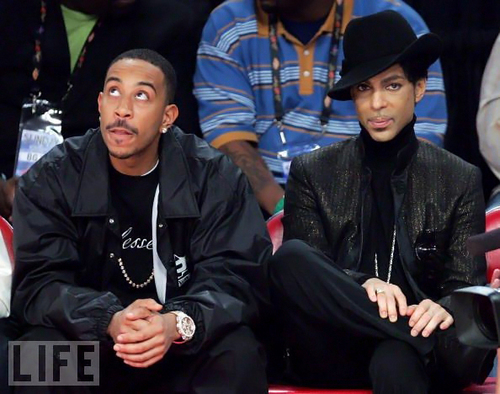 Prince and Ludacris