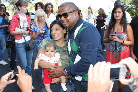 Randy Jackson At Michael's Forest Lawn Birthday Tribute