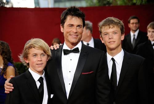 Rob Lowe's sons!!