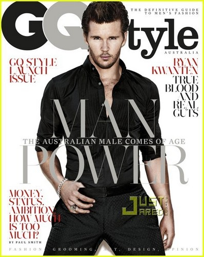 True Blood wallpaper with a portrait called Ryan Kwanten - GQ Style