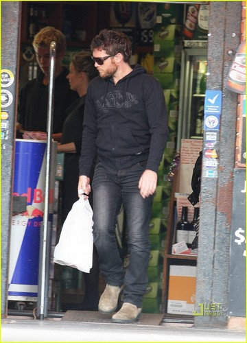 Sam out in Sydney
