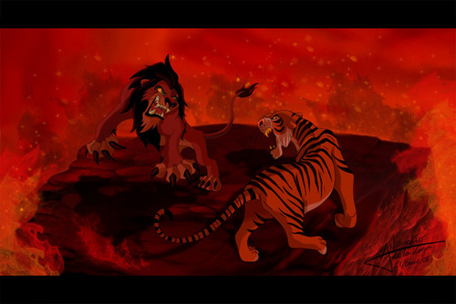 Shere Khan VS Scar