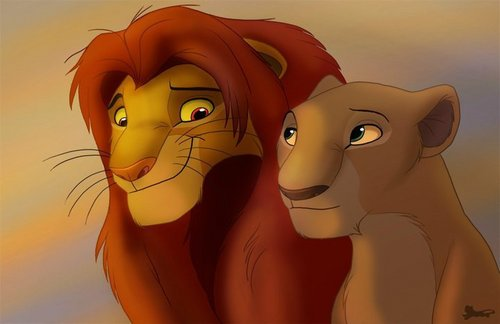 The Lion King wallpaper called Simba&Nala♥
