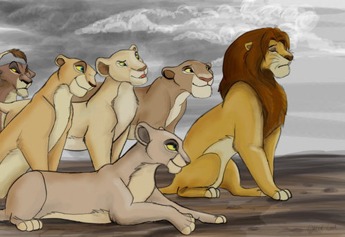 Simba&the lioness