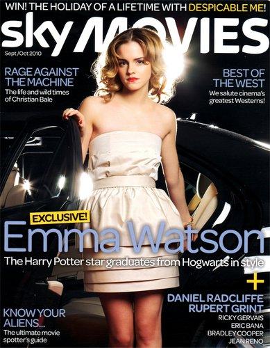 Sky phim chiếu rạp Magazine Interviews Emma Watson, Dan Radcliffe, and Rupert Grint