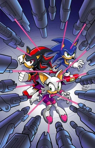 Sonic Universe 2 cover