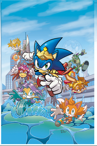 Sonic Universe 8 cover