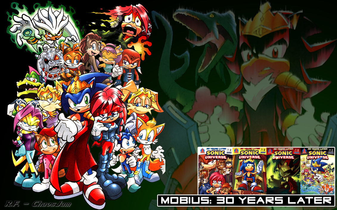 Cartoon Characters 30 Years Later : Sonic universe mobius yl fighting for freedom fan