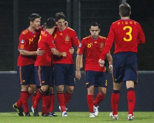 Spain (4) vs Liechtenstein (0)