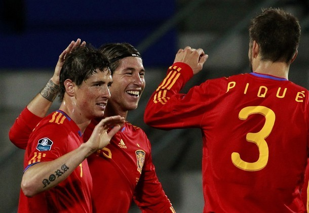 Spain (4) vs Liechtenstein (0)