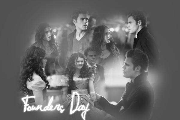 Stefan & Elena (Founders Day)