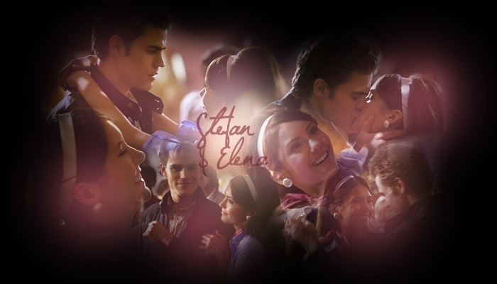 Stefan & Elena (Unpleasantville)