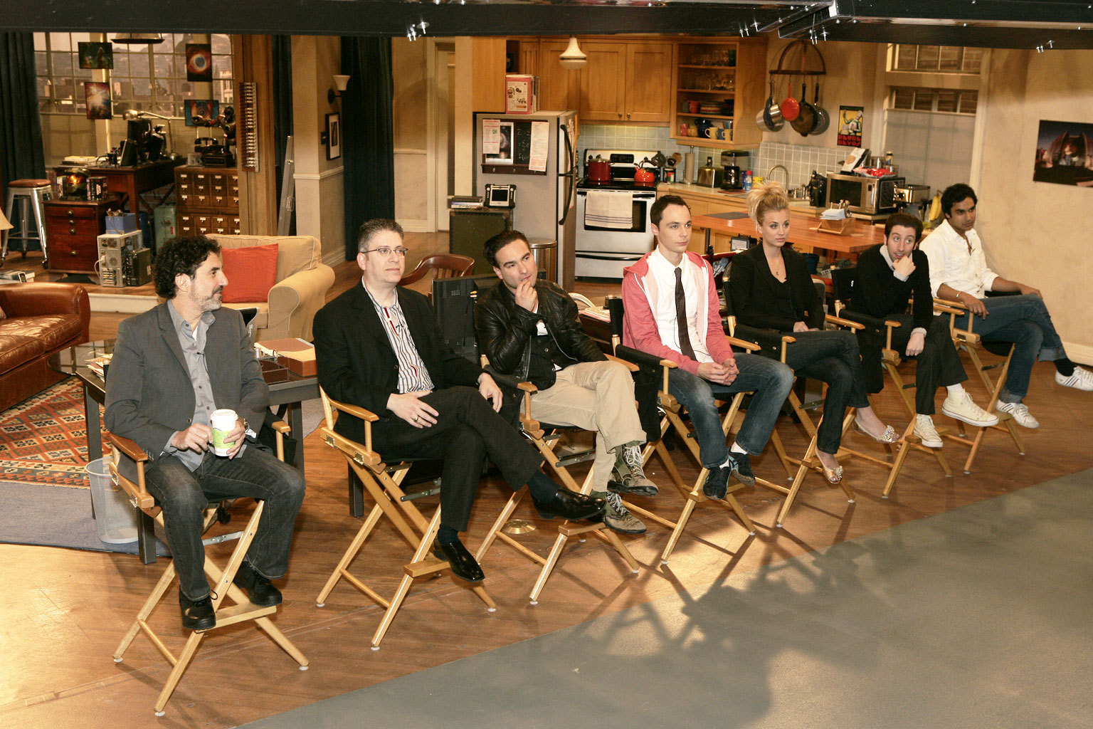 The Big Bang Theory TBBT cast