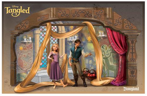 Disney's Rapunzel wallpaper entitled Tangled