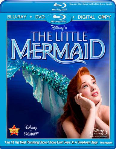 The Little Mermaid if it were on Blu-ray