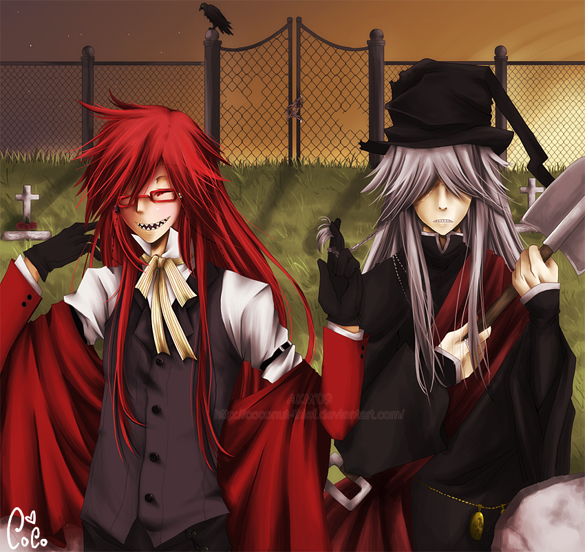 the undertaker and grell kuroshitsuji photo 15217927