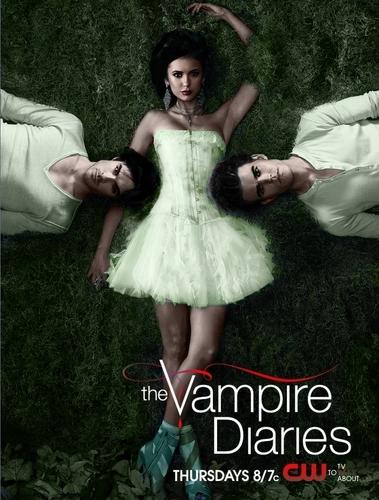 The Vampire Diaries Prom Poster