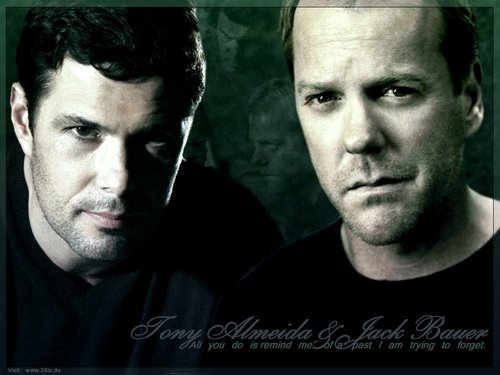 24 wallpaper containing a portrait entitled Tony & Jack