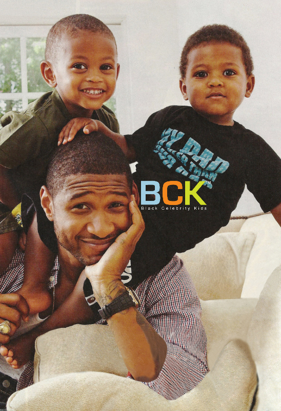 USHER AND HIS BOYS: LIKE FATHER, LIKE SONS - Usher Photo ...