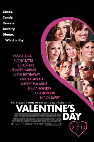 Emma Roberts wallpaper possibly containing a newspaper and anime titled Valentine's Day Movie Poster 3