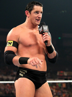 Wade Barrett Hintergrund probably with a stück, hunk entitled WADE