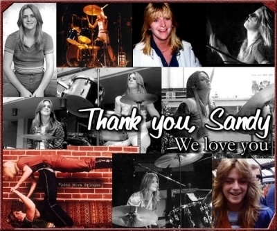 We Amore te Sandy West