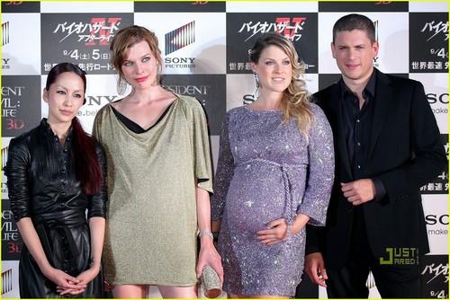 Wentworth @ Resident Evil Afterlife Nhật Bản Premiere