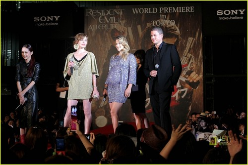 Wentworth @ Resident Evil Afterlife Japan Premiere