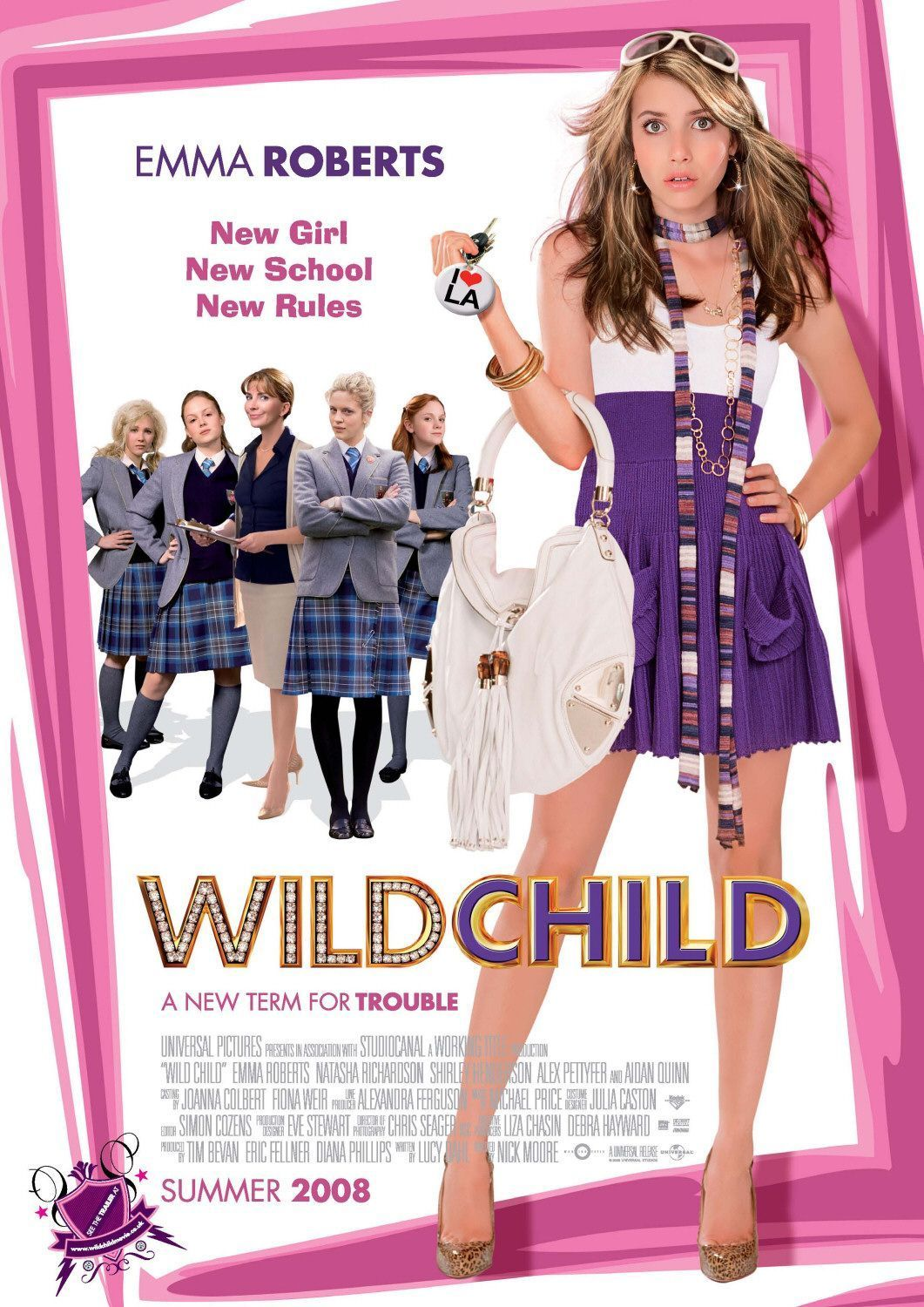 Wild Child Movie Poster - Emma Roberts Photo (15280529 ...