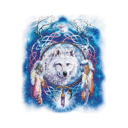 serigala, wolf Dreamcatcher