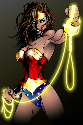 funkyrach01 wallpaper probably containing anime entitled Wonder Woman