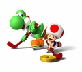 Yoshi and Toad - Hockey