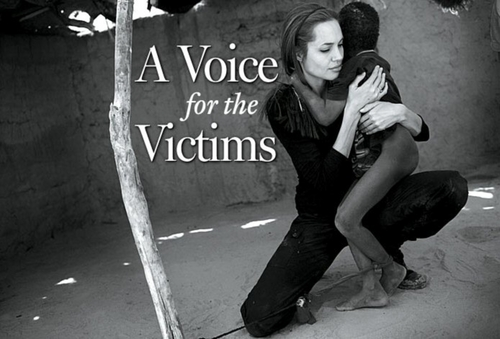 a voice for the victims
