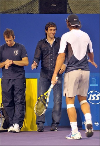 angry doctor: Rafa have not on me time!