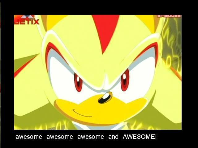 Shadow The Hedgehog Awesome