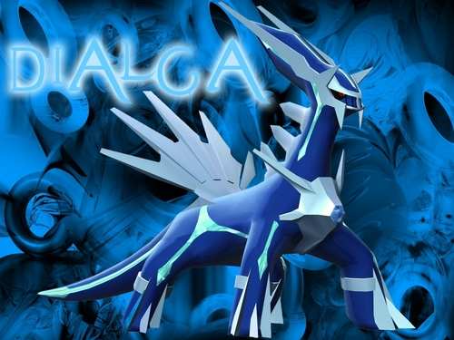 maalamat pokemon wolpeyper entitled dialga