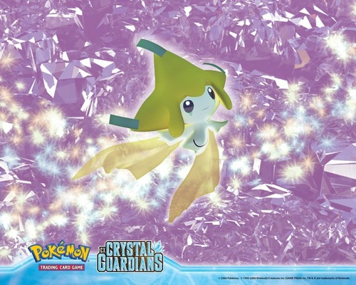 pokémon legendarios fondo de pantalla titled Jirachi