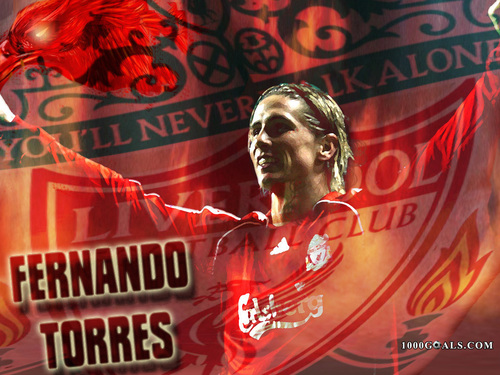Fernando Torres wallpaper called liverpool!!!!4 lyf