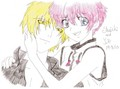 my drawing of shuichi and yuki