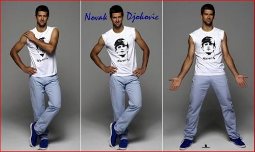 novak djokovic crotch is big !!