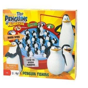 penguins of madagascar fishing game